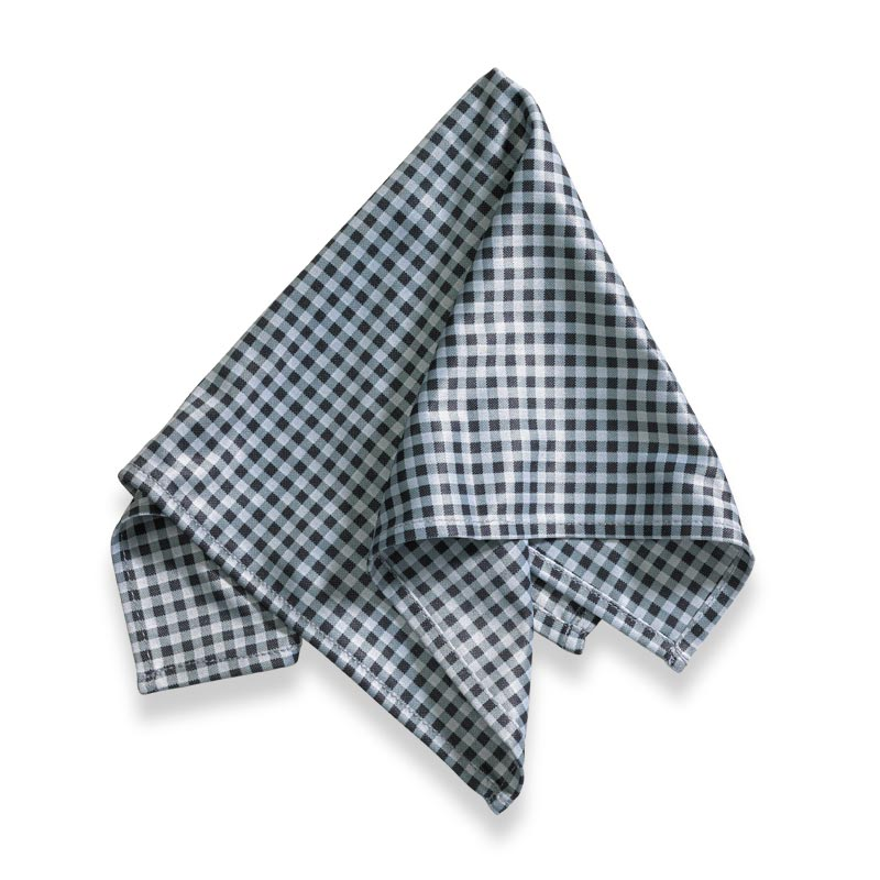 Microfiber Pocket Square - Gray