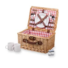 Catalina Wicker Picnic Basket