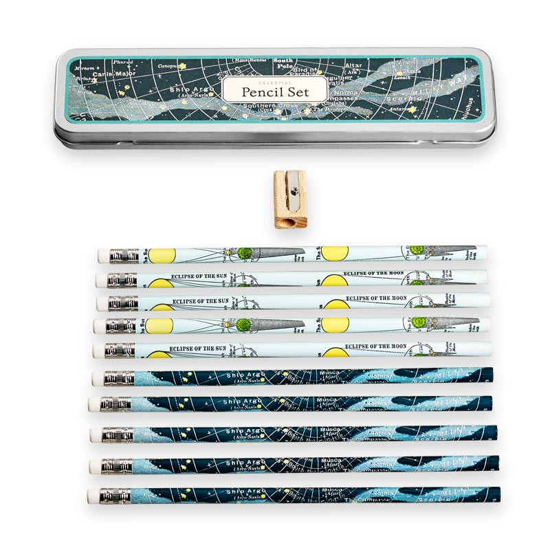 Celestial Pencil Set (set of 10)