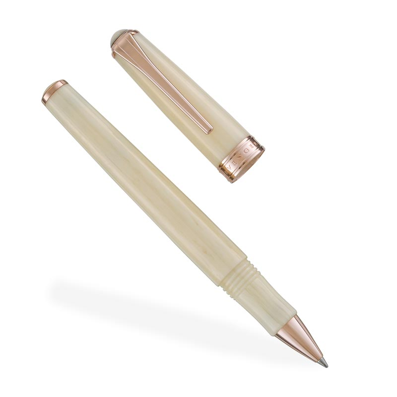 True Writer® Ivory Rose Gold Rollerball