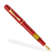 Pelikan M101N Bright Red Fountain Pen with Ink
