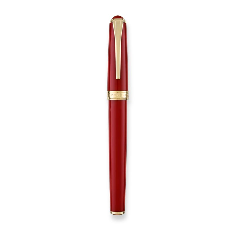 True Writer® Classic Red and Gold Fountain Pen