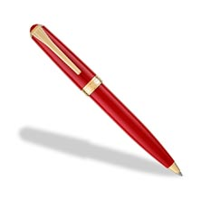 True Writer® Classic Red and Gold Ballpoint Pen