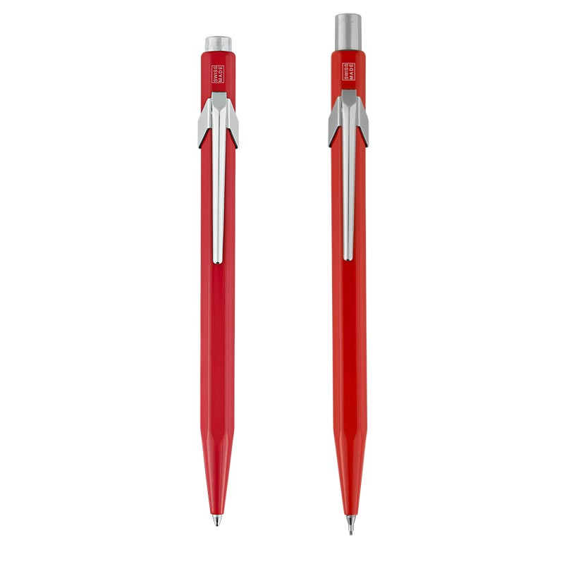 Caran d'Ache 849/844 Ballpoint Pen and Pencil Gift Set
