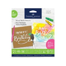 Faber-Castell Lettering and Calligraphy Paper Stencils
