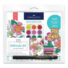 Faber-Castell 20-Minute Studio Watercolor Art Set