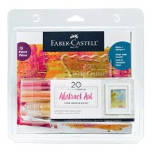 Faber-Castell 20-Minute Studio Abstract Art Set