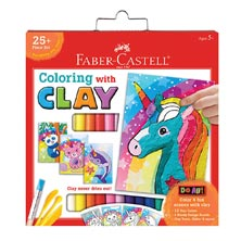 Faber-Castell® Do Art Coloring with Clay Unicorn