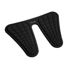 Ergonomic Sit-to-Stand Mat Black