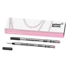 Montblanc Ladies Edition Small Rollerball Refills 2-Pk Pink