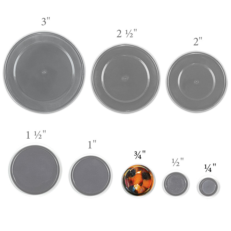 Kyoto Circa Discs - set of 11, 3/4 inch Medium