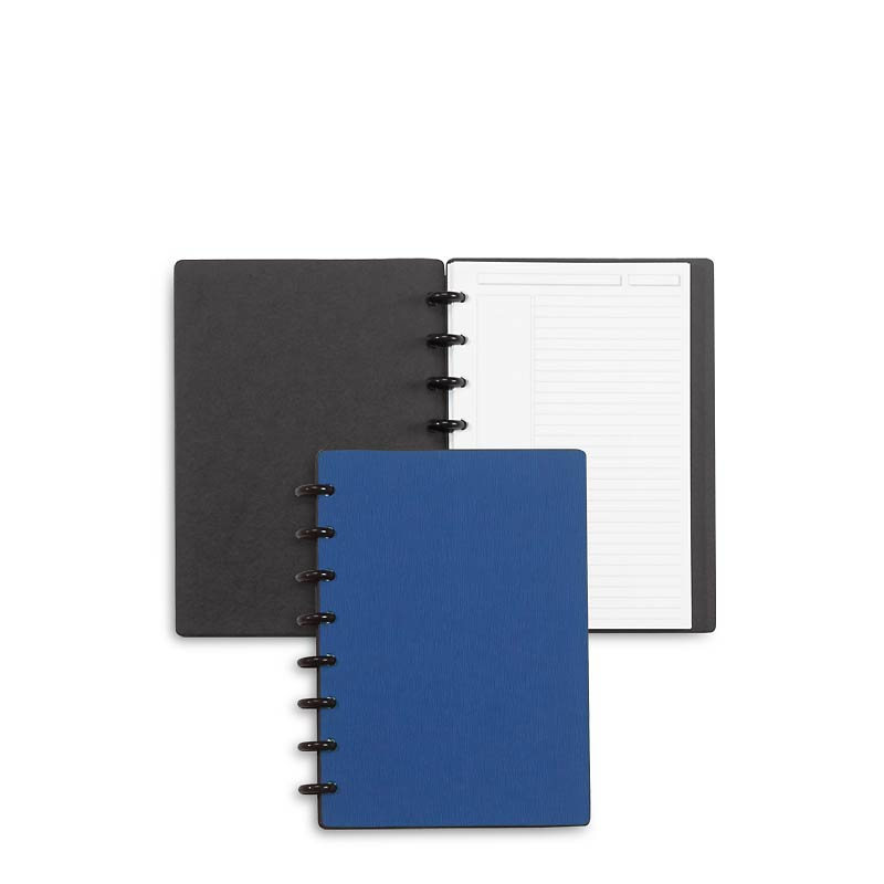 Circa Sliver Foldover Notebook, Blue Junior