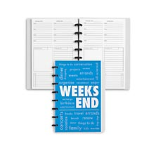 Circa Week's End Notebook, Vertical Junior