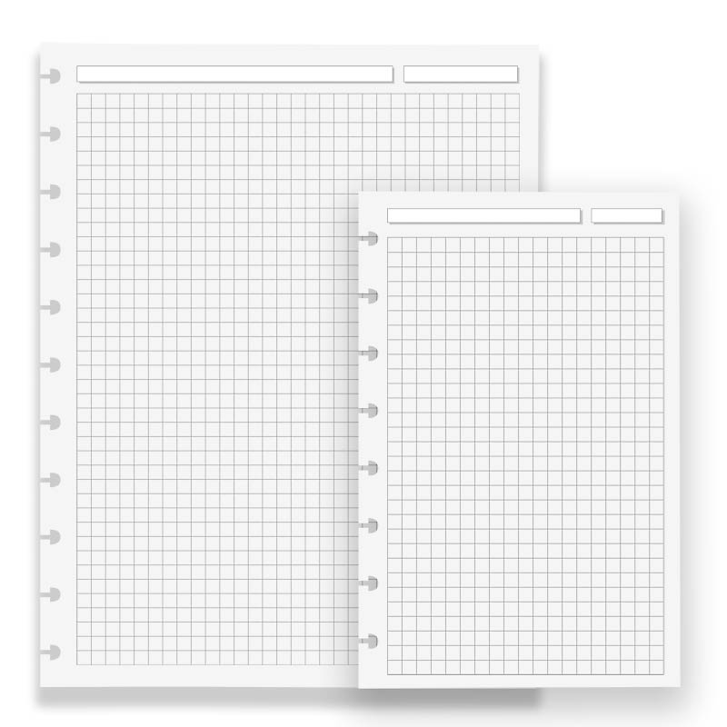 100 circa full page grid refill levenger