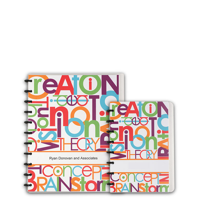 Special Request™ Circa Personalized Notebook, Words