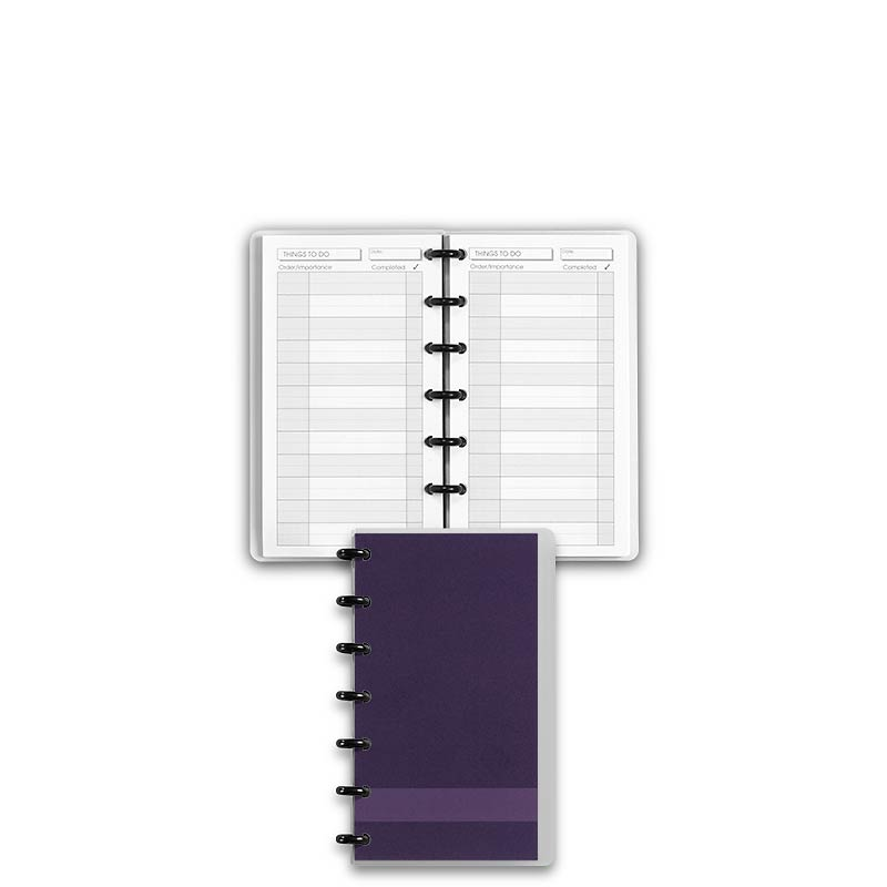 Special Request™ Circa Personalized Notebook, Grape, Compact