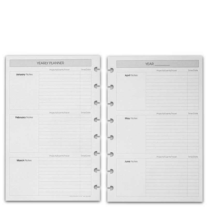 photograph regarding Planner Refills named Circa® Everyday Schedule Refill