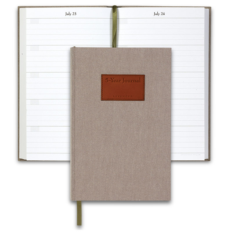 Levenger 5-Year Journal - Monogrammed
