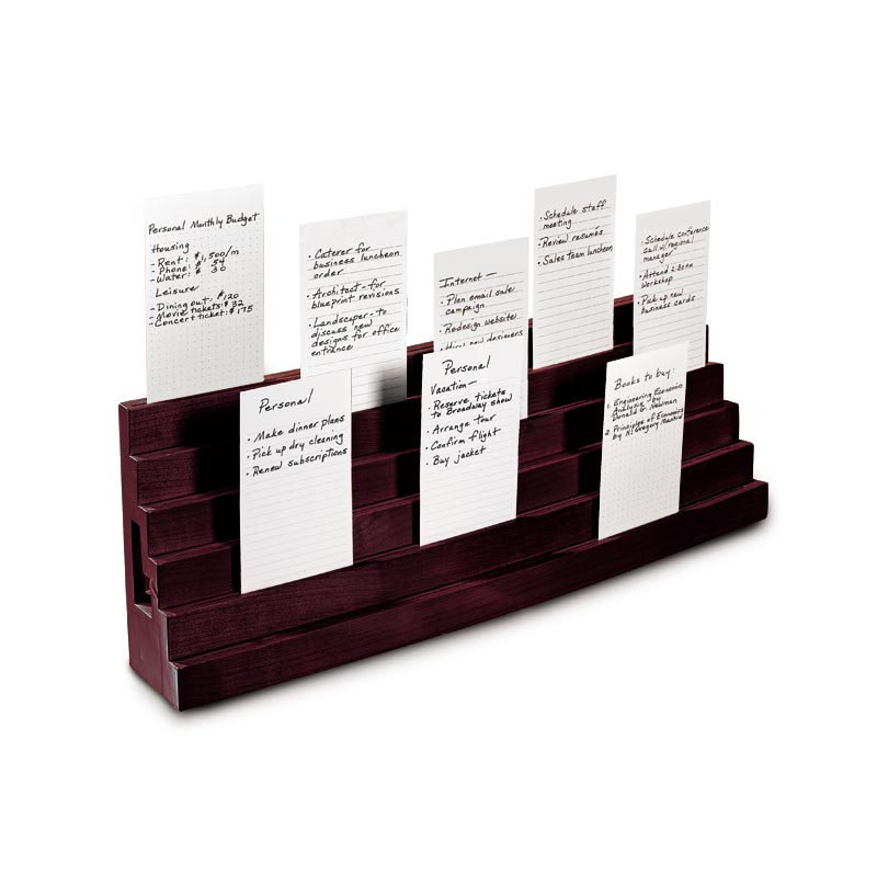 Note card bleachers index card organizer 3 x 5 card organizer note card bleachers colourmoves