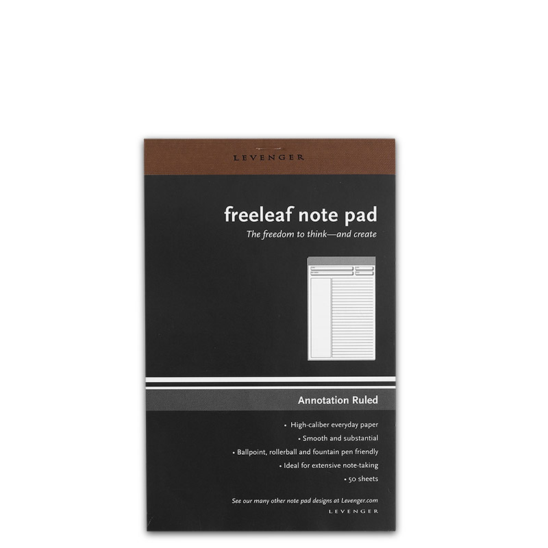 Freeleaf White Annotation Ruled Pads, Junior