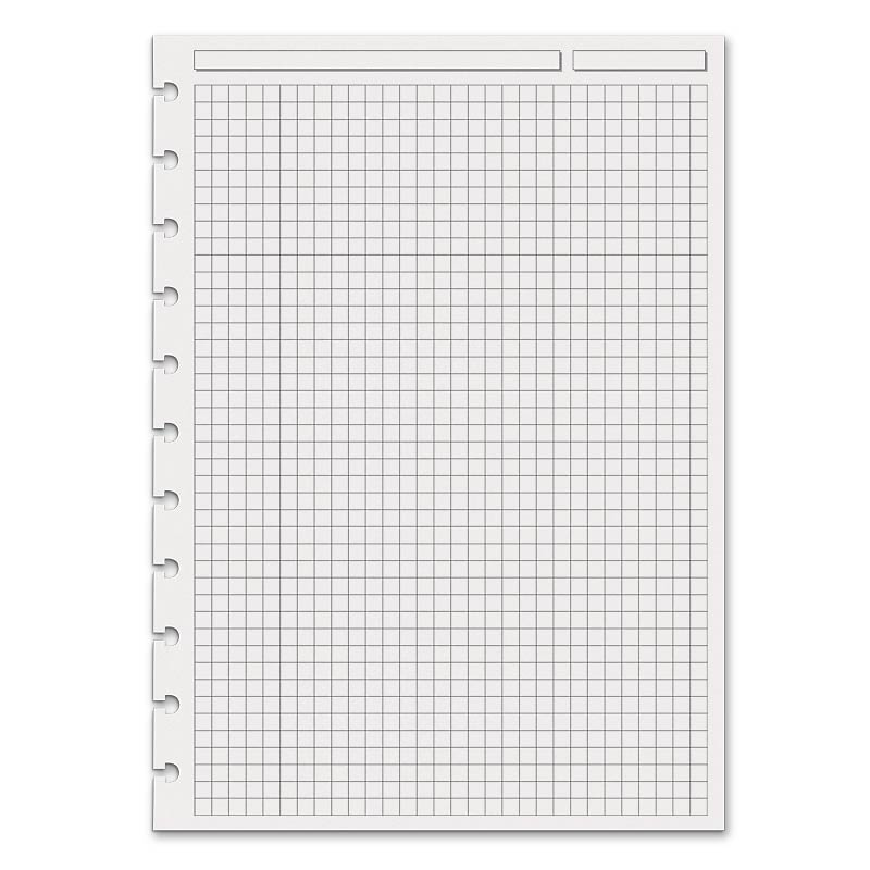 special request full page grid 100 sheets circa a4 levenger