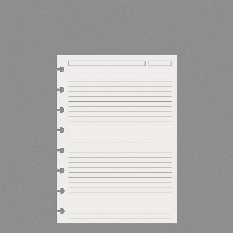 Special Request™ Full-Page Ruled, Circa A5 (100 sheets)