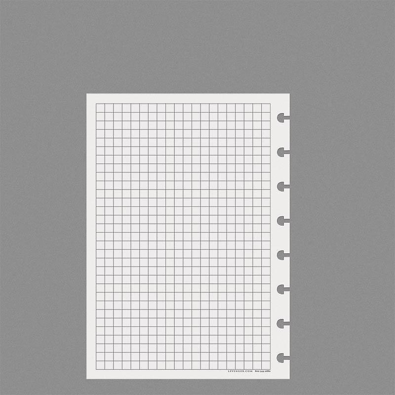 special request full page grid 100 sheets circa a5 levenger