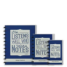 Special Request™ Circa Personalized Notebook, Full-Page Ruled, Quote