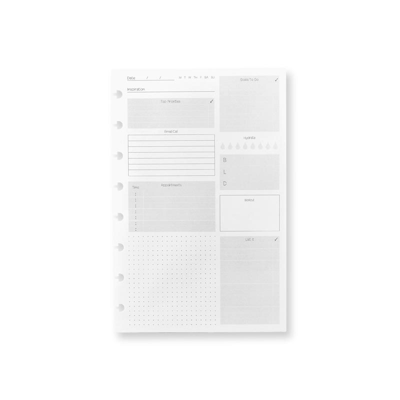 Special Request Circa Daily Goals (100 sheets)