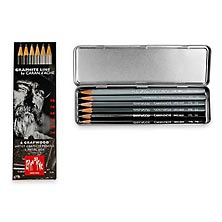 Caran D'Ache Artist Graphite Pencils (set of 6)