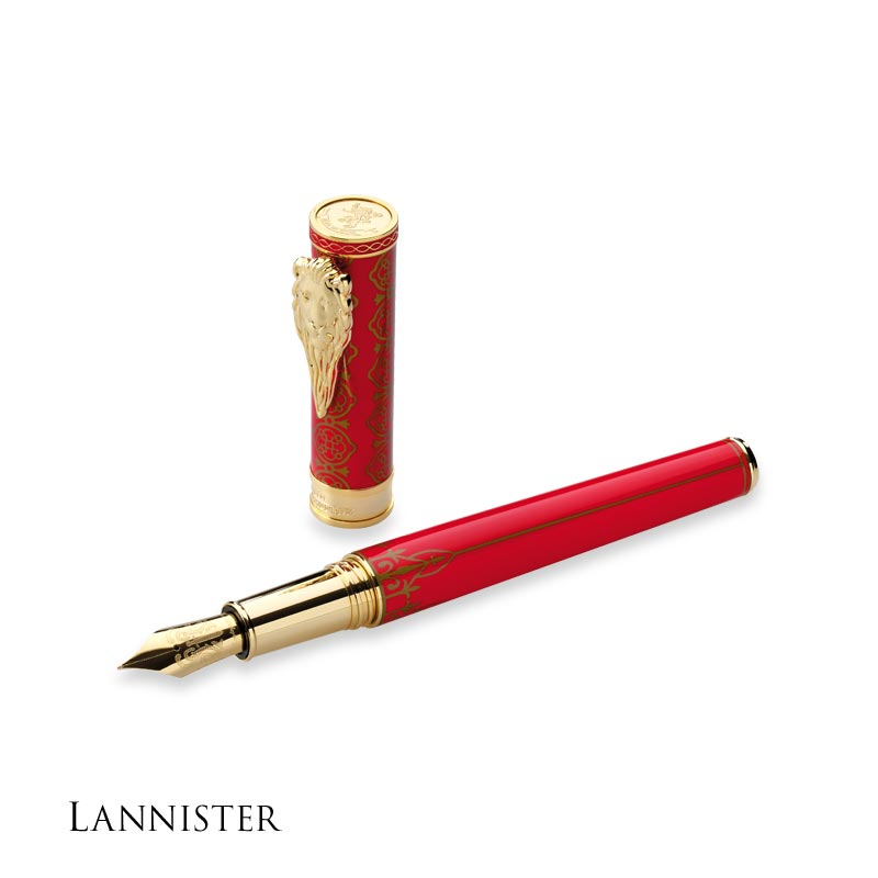 Montegrappa Game of Thrones Fountain Pen - Lannister