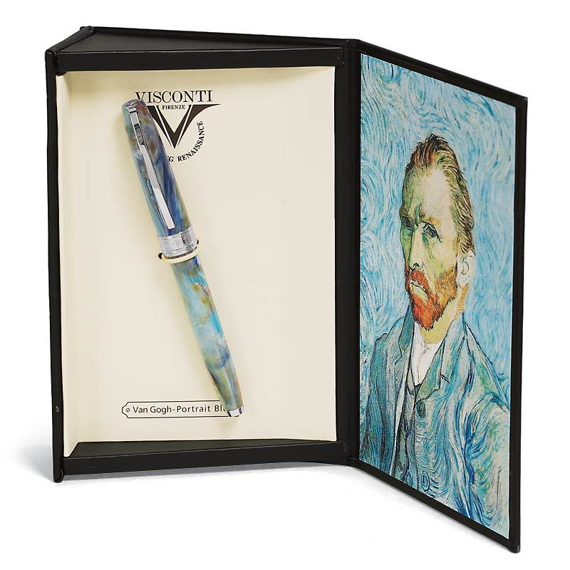 Van Gogh Portrait Blu Fountain Pen (F, M)