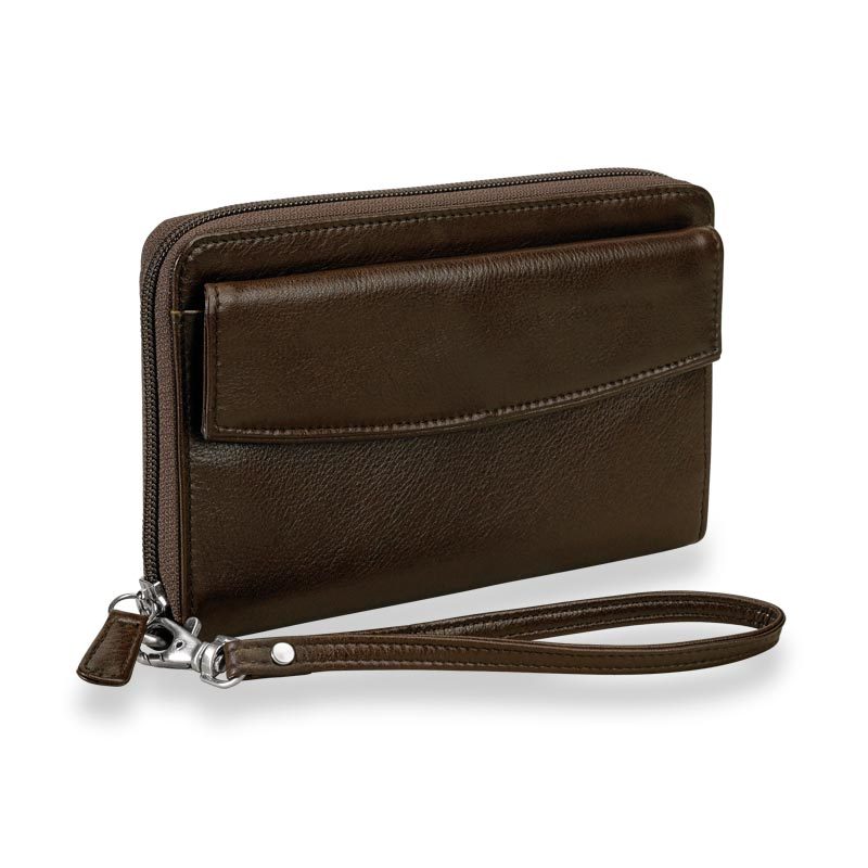 Going Out Wristlet, Espresso