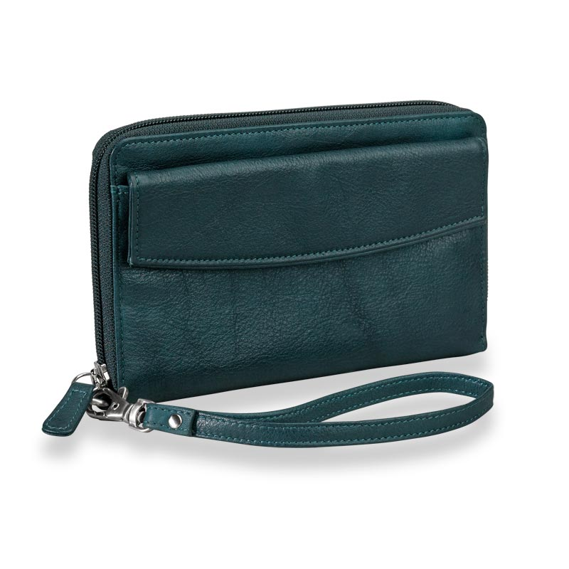 Going Out Wristlet, Teal