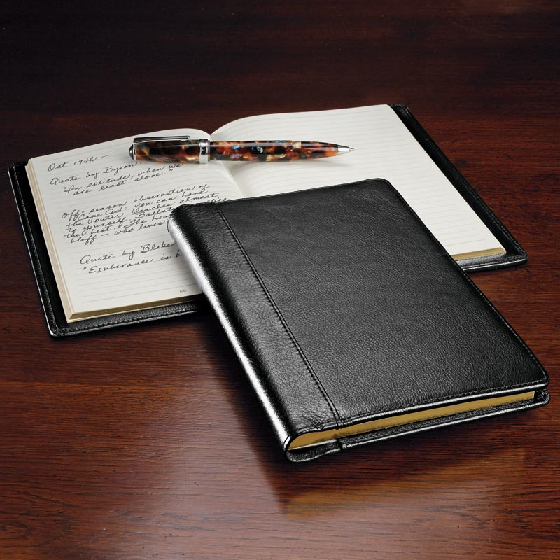 Stanley Leather Journal Levenger