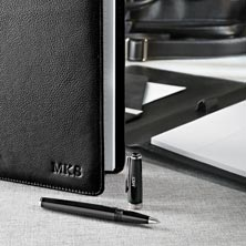 Stealth Circa Leather Foldover Notebook