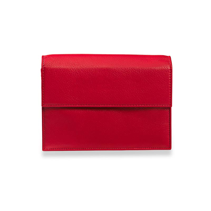 RFID Travel Wallet, Red