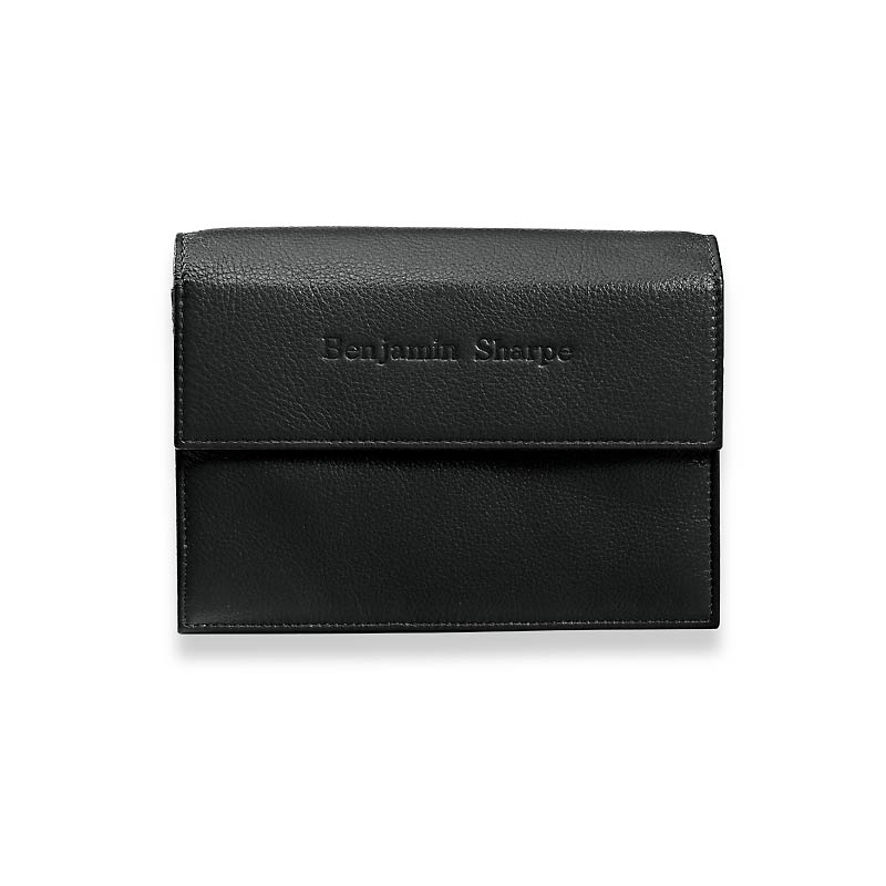 Travel Wallet & Passcase with Walletini Pen, Black