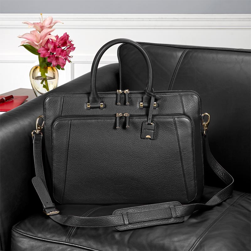 Blair Briefbag - Black