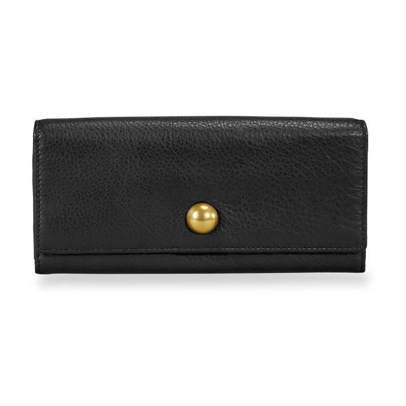 Jayne Accordion Wallet - Black