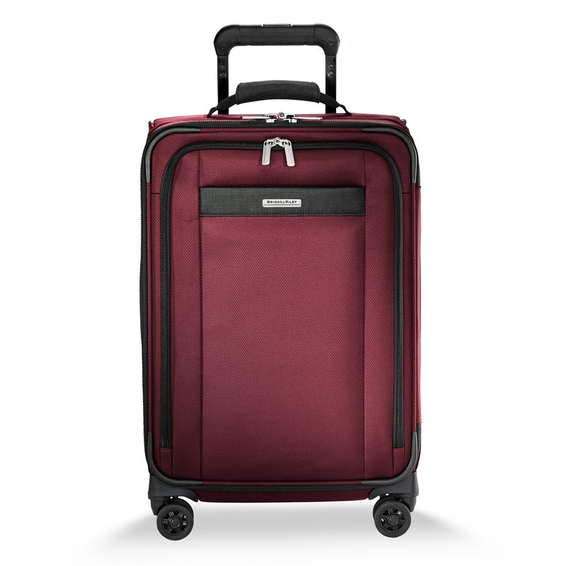 Transcend Tall Carry-On Expandable Spinner - Merlot