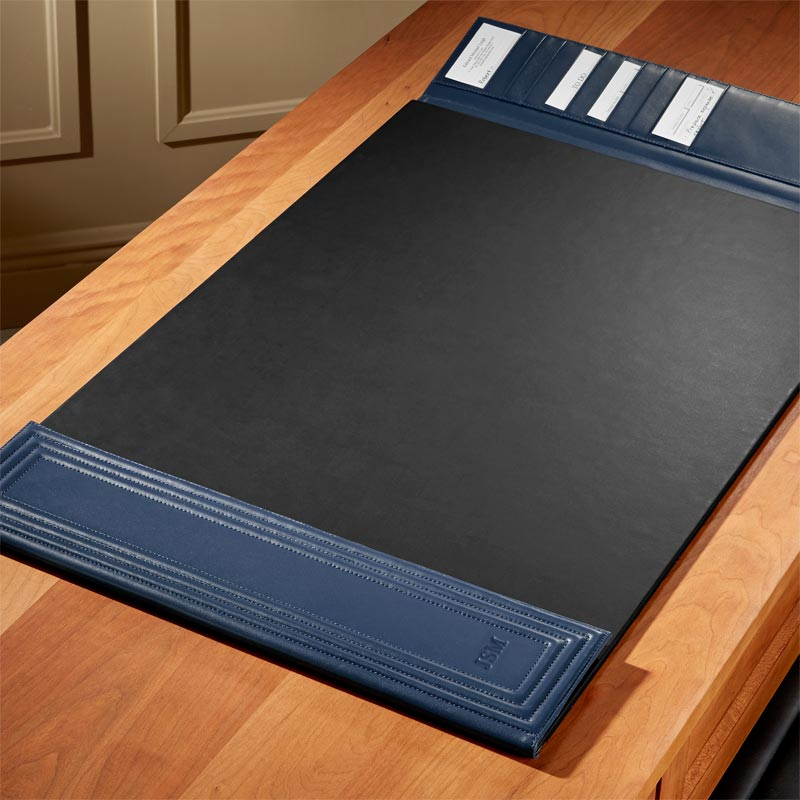 Bombé Quilted Desk Pad