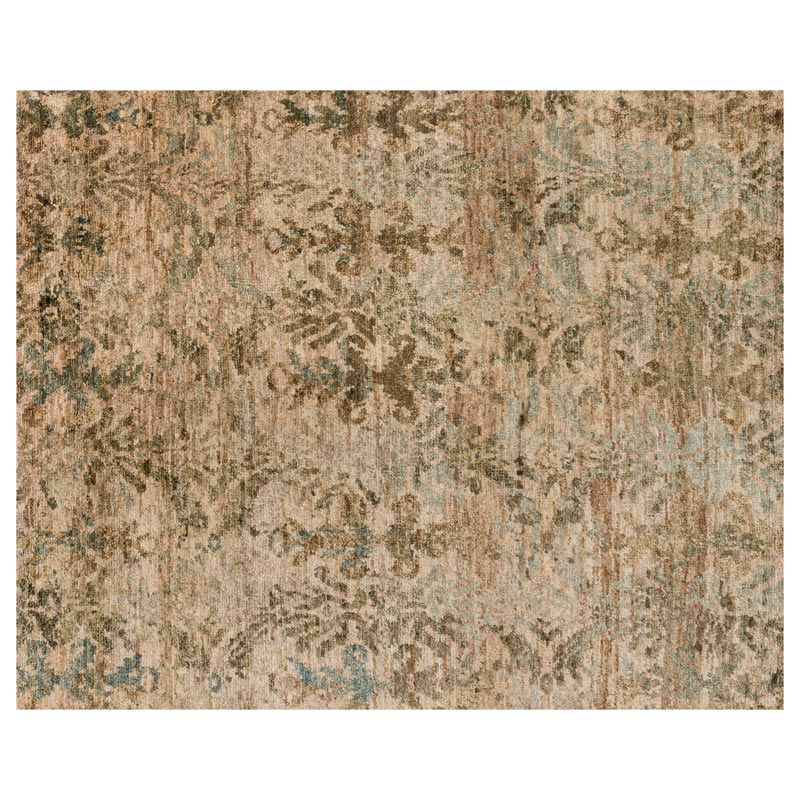Xavier Rug - Natural/Light Blue
