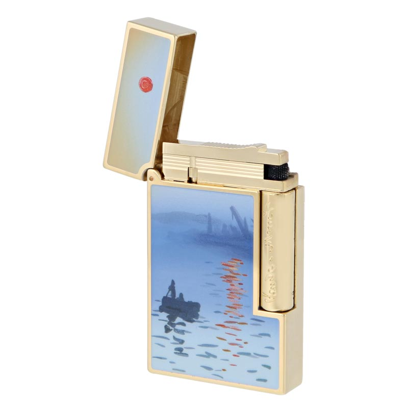 S.T. Dupont Line 2 Monet Lighter