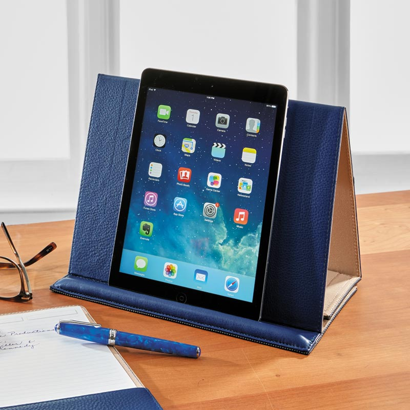 Leather Large Tablet Stand