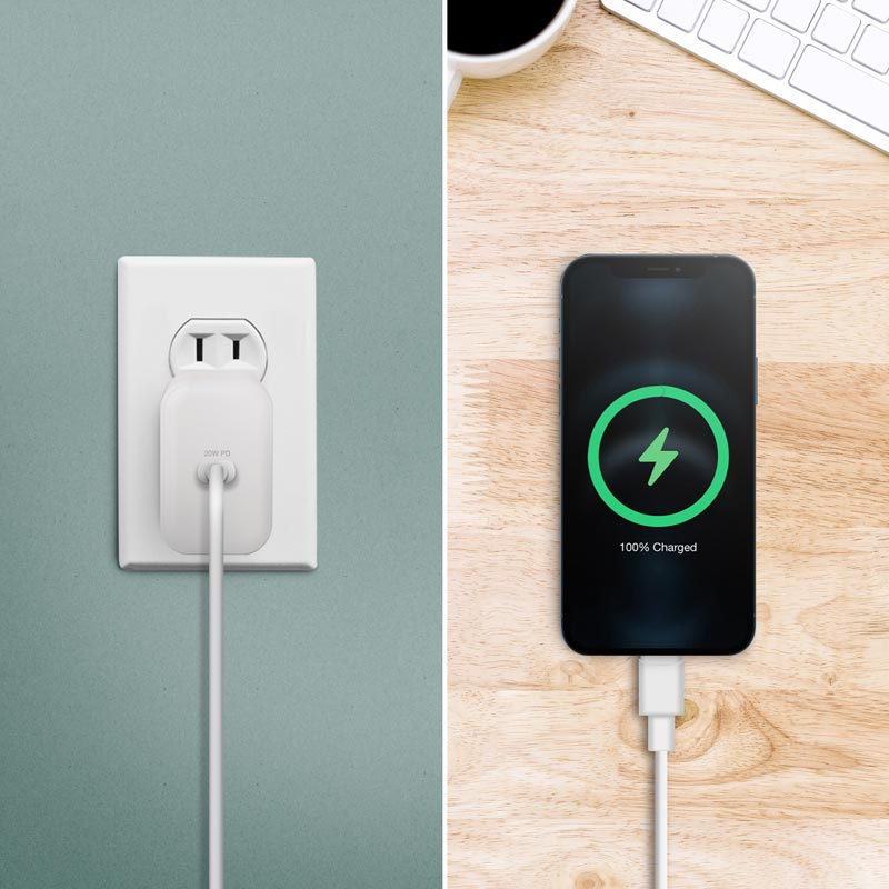 20W USB-C PD Fast Wall Charger