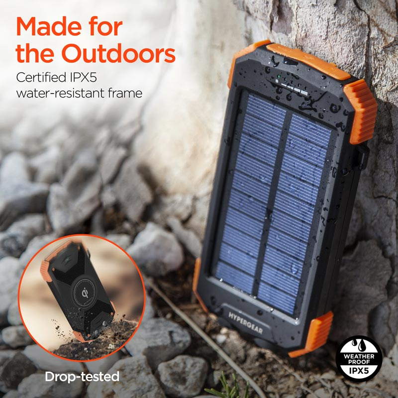Solar Wireless Power Bank