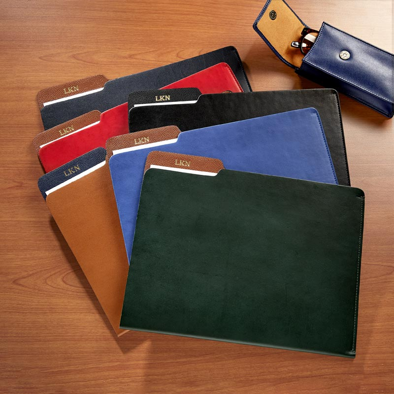 Wall Street Leather File Folder