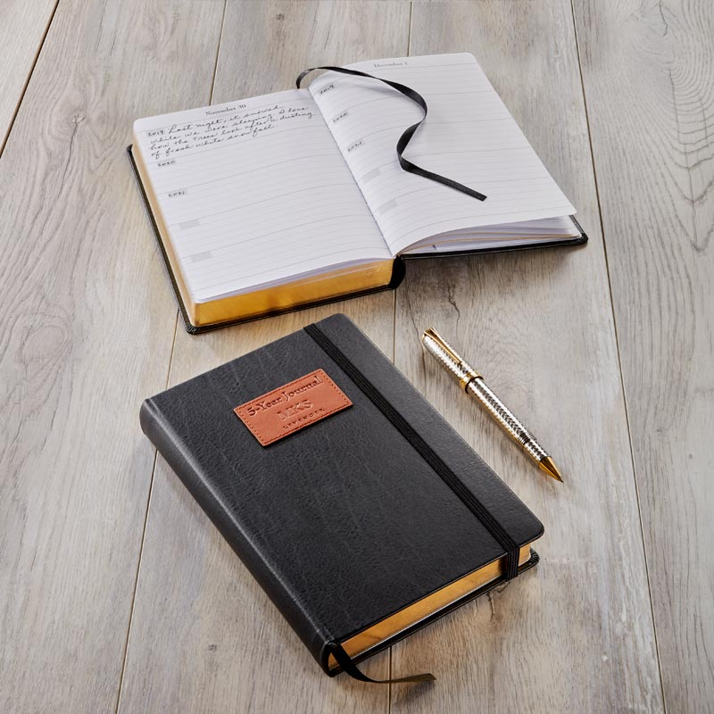 Luxe Leather 5-Year Journal