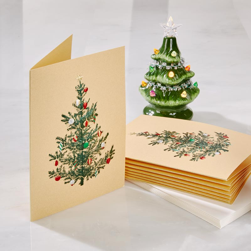Tree with Ornaments Holiday Card
